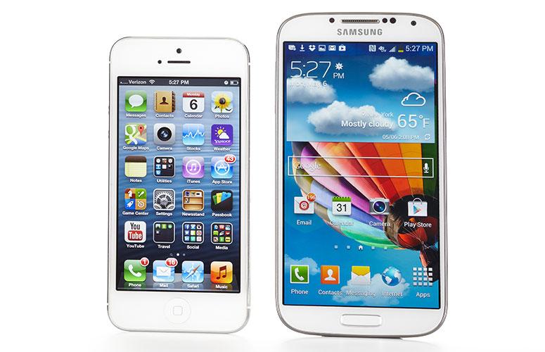 S4vsIPHONE5-Design