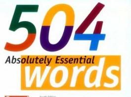 دانلود نرم افزار آموزش 504 واژه انگلیسی