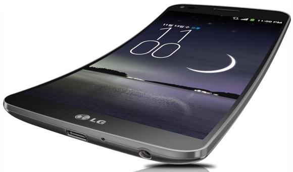 تلفن LG G Flex دارای صفحه نمایش خمیده