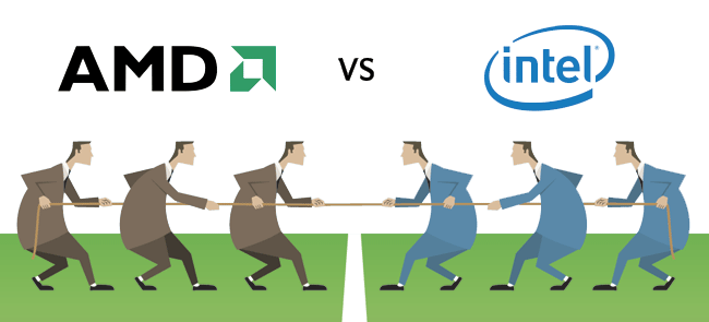 AMD یا Intel ؟ مساله این است !