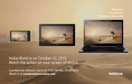Everything you need to know about the Nokia World event on October 22