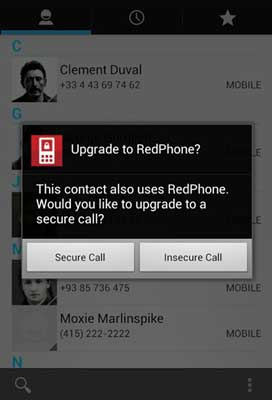 redphone-secure-calls