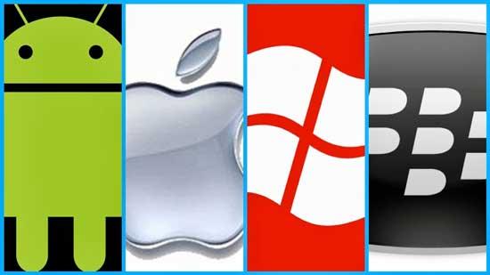 رقابت سیستم عامل های موبایل در جهان