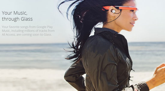 Google Glass goes from eyes to ears with music support, new earbuds