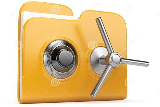 قفل کردن پوشه ها