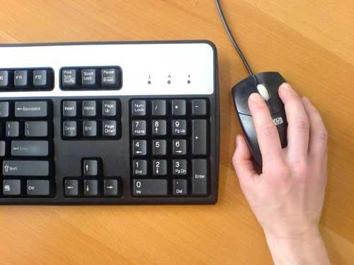 writing-keyboard-mouse