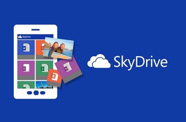 20 گیگابایت فضای sky drive برای استفاده کنندگان از ویندوز فون
