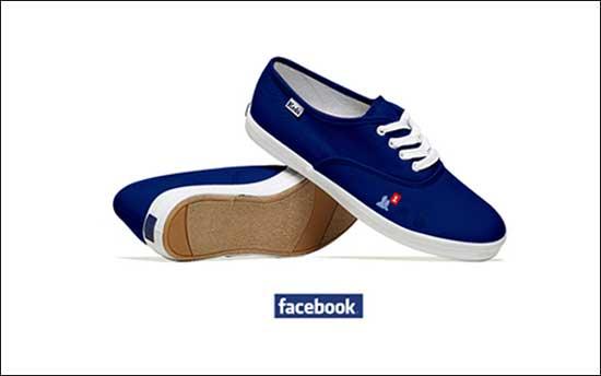 کفشهای متصل به شبکه های اجتماعی