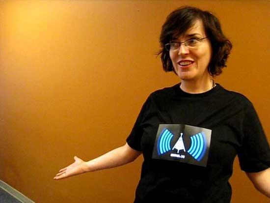 تی شرتهای تشخیص دهنده ی WiFi