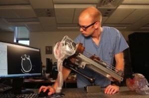 دستگاه روبوتیک پزشکی