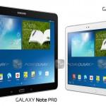 عرضه تبلت 12.2 اینچی جدید سامسونگ با نام  Samsung Galaxy Note Pro در سال 2014