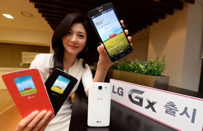 ال جی گوشی GX خود را معرفی کرد