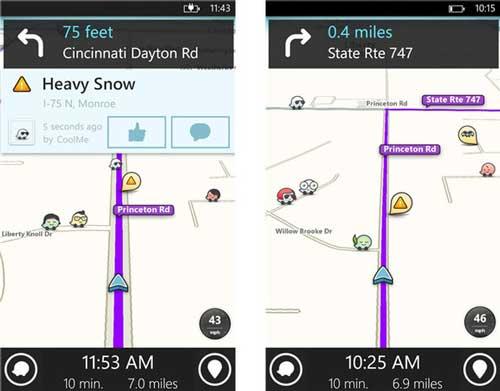 GPS ,و رهیاب برای ویندوز فون