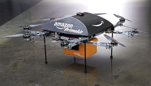 استفاده آمازون از Prime Air برای زود رسیدن بسته ها به مشتریان
