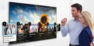 تلویزیون های جدید هوشمند سامسونگ با کنترل صدا و حرکات در سال 2014