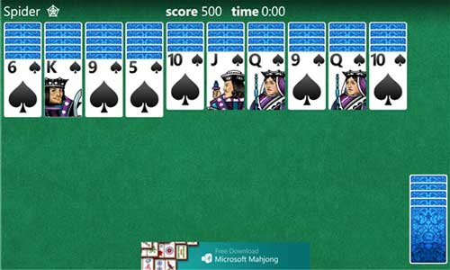 solitaire-windows-phone