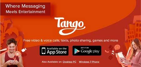 اپلیکیشن tango