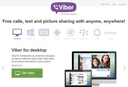 اپلیکیشن viber