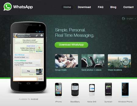 اپلیکیشن  whatsapp
