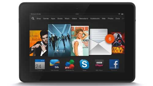 Amazon Kindle Fire HDX 7 and 8.9