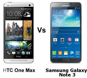 HTC or Galaxy Note 3