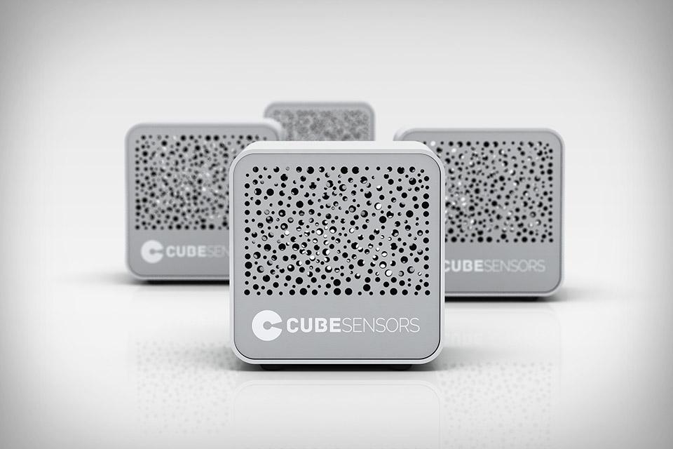 CES 2014: کنترل آلودگی هوا با سنسورهای مکعبی