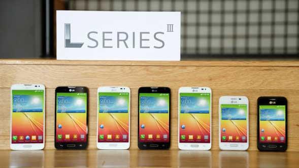 گوشی های نسل جدید ال جی در کنفرانس 2014 MWC