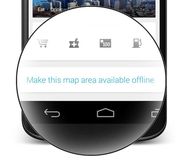 استفاده آفلاین و بدون اینترنت از نقشه گوگل