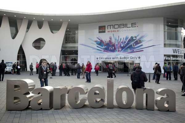 Mobile World Congress entrance