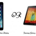مقایسه تبلت آیپد مینی و گلکسی نوت 10 : تقابل دو ابرقدرت تکنولوژی جهان