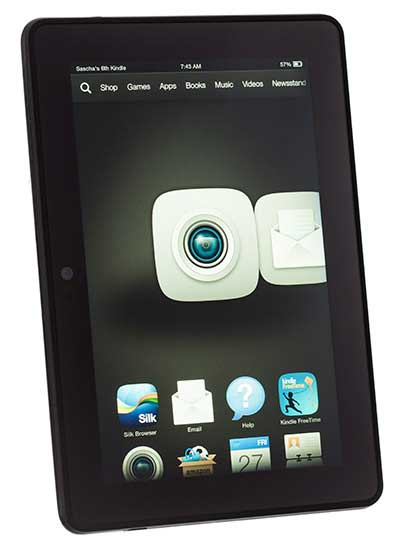 تبلت اندرویدی amazon-kindle-fire-hdx-angle