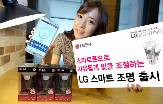 لامپ های هوشمند LG قادر هستند به اندروید و ios متصل شوند
