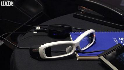 Sony shows SmartEyeglass