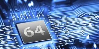 گوشی های اندروید 64 بیتی