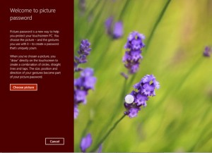 رمز تصویری در ویندوز 8