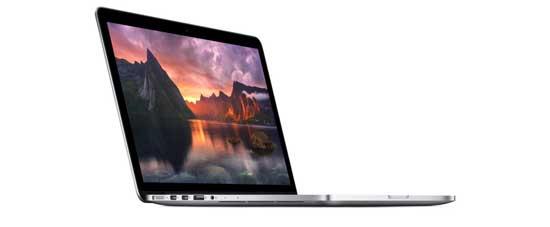 اپل مک بوک ایر پرو با صفحه نمایش رتینا