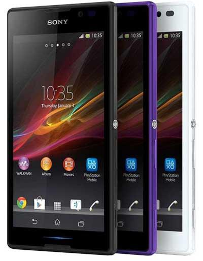 گوشی هوشمند sony xperia c