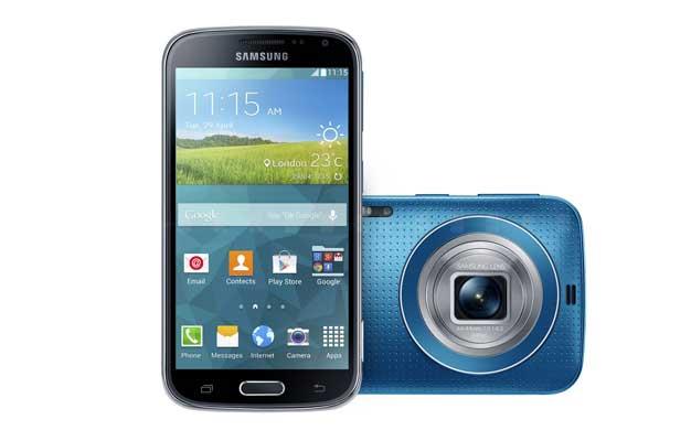 گوشی هوشمند جدید سامسونگ با نام Samsung Galaxy K zoom