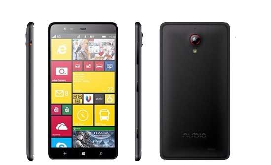 جدیدترین ویندوز فون : ZTE NUBIA W5