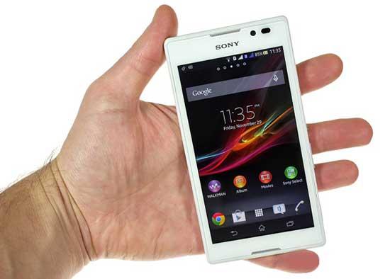 بررسی گوشی هوشمند sony xperia c