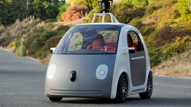 اتومبیل بدون راننده گوگل