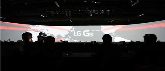 کنفرانس LG G3