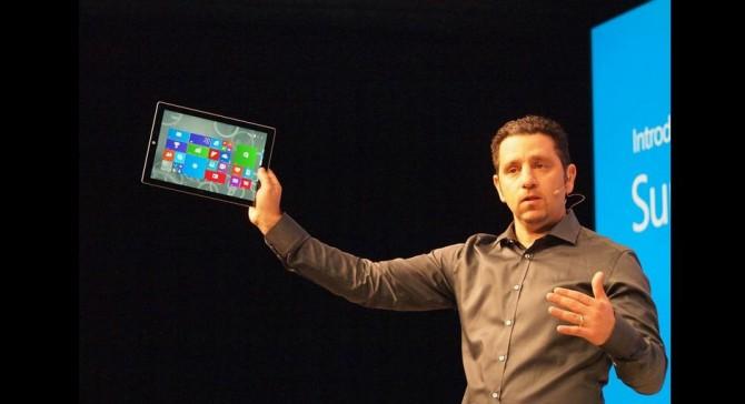 تبلت surface pro 3 : صفحه نمایش 12 اینچی و 9.1 میلیمتر ضخامت