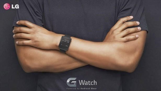 ساعت هوشمند ال جی G watch