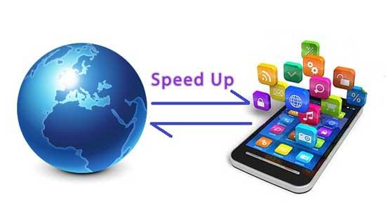 افزایش سرعت اینترنت در گوشی های هوشمند , اندروید , سرعت اینترنت