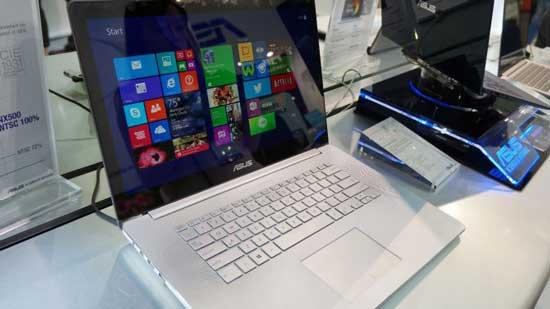 جدیدترین لپ تاپ ایسوس با صفحه نمایش خیره کننده