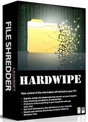 نرم افزار HardWipe 4.1.2 + Portable برای حذف غیر قابل بازیابی فایل