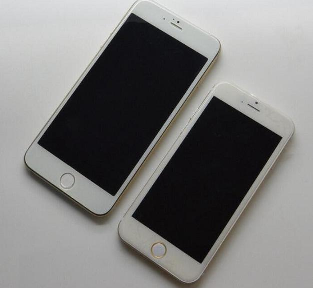 تصاویری منتشر شده از دو مدل جدید آیفون 6 ، مدل های 4.7 و 5.5 اینچی