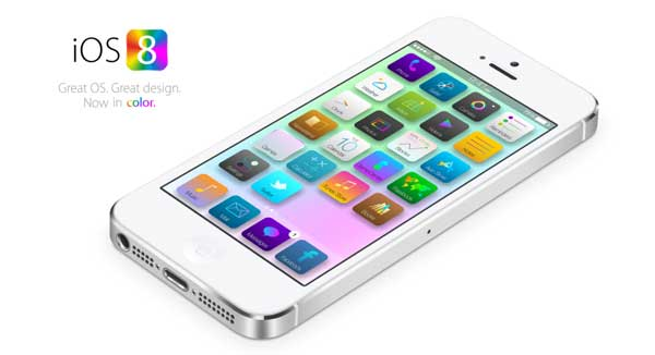 آی اوس 8 (iOS 8) رونمایی شد