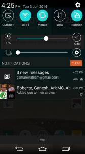 رابط کاربری G3